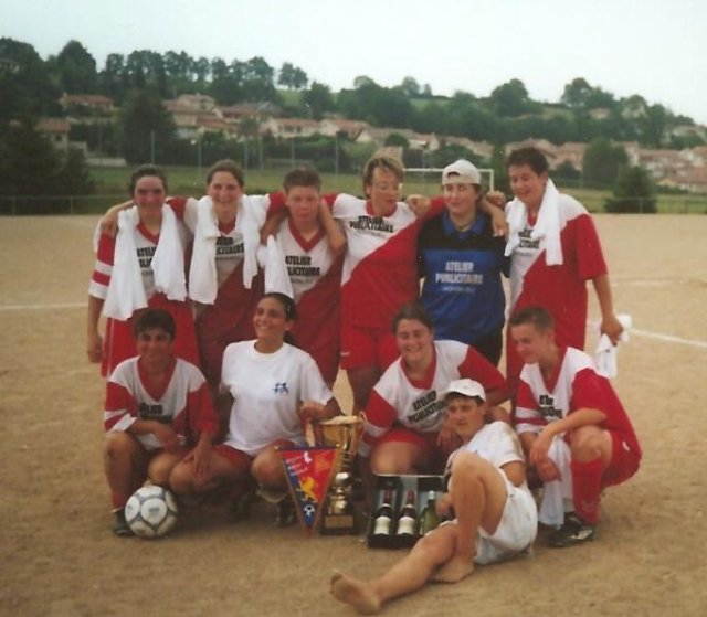 Les féminines en 2002