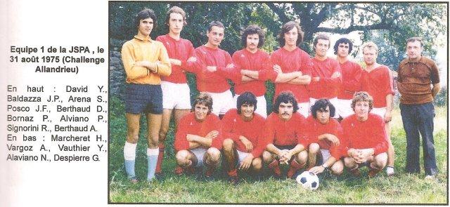 La JSPA en 1973